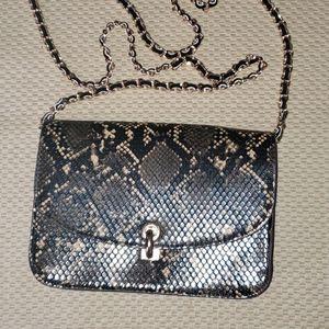 Accesorize python crossbody snake bag